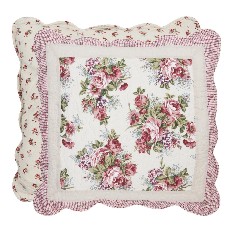 kissenbezug amely 50x50 cm blumen floral kissenbez ge. Black Bedroom Furniture Sets. Home Design Ideas