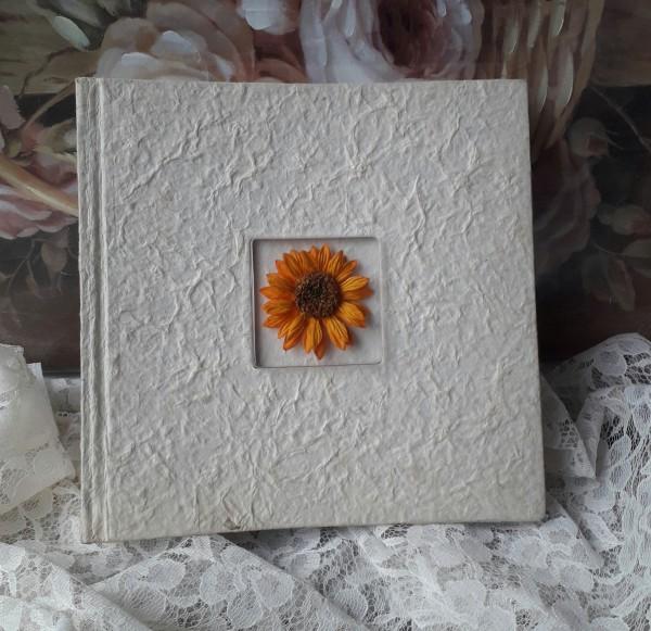 Gästebuch oder Fotoalbum FLOWER