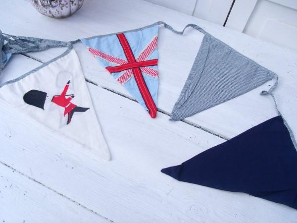 Wimpel Girlande Kinder ENGLAND Blau Weiß Rot | Sonstige | Dekoration ...