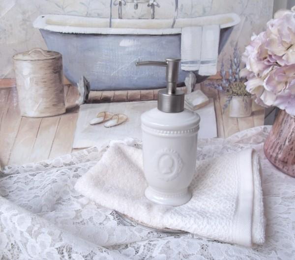 Seifenspender IRA Creme Keramik