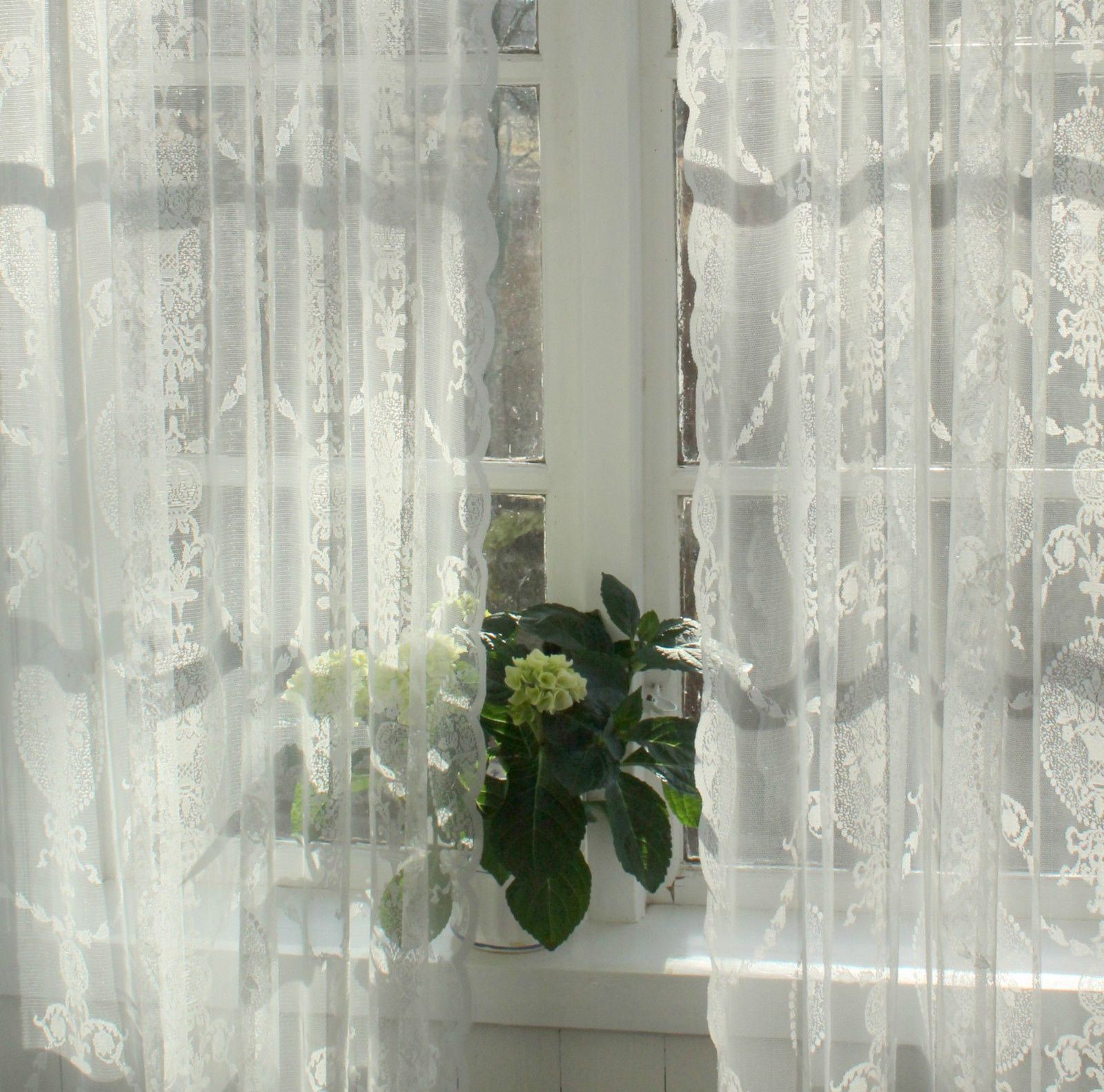 vorhang avery offwhite spitzen gardine 140x240 cm 2 st ck spitzen gardinen mehr gardinen. Black Bedroom Furniture Sets. Home Design Ideas