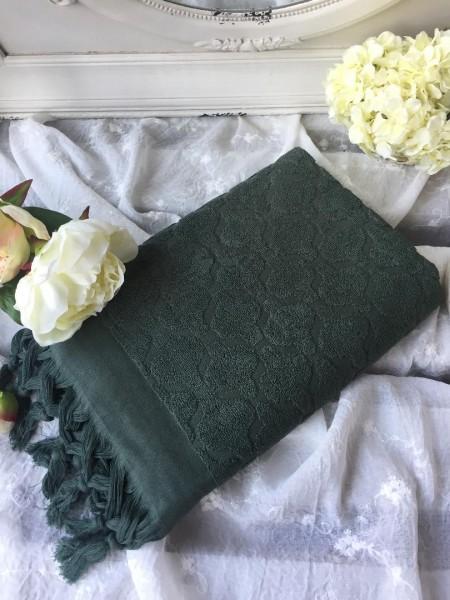 Handtuch DINA Grün 50x70 cm Frottee Handtuch