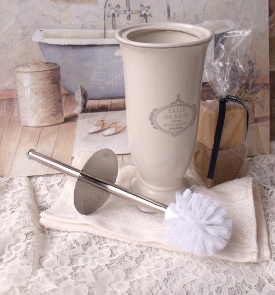 Toilettenbürste Paris Wc Klobürste Creme Keramik