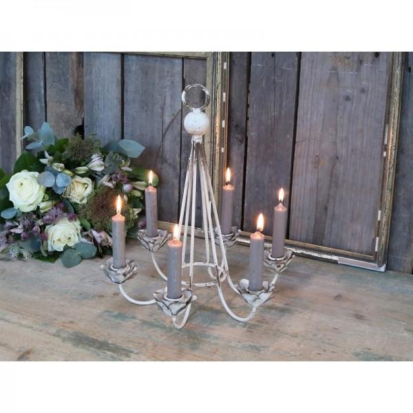 Lüster Kerzen Leuchter Halter Kronleuchter für 6 Kerzen
