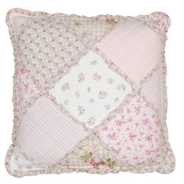 kissenbezug cilly 40x40 cm weiss rosa blumen floral. Black Bedroom Furniture Sets. Home Design Ideas