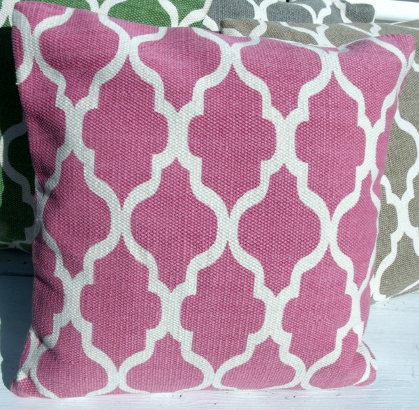kissenbezug dave pink 45x45 cm used look kissenbez ge kissen zauberhafter landhausstil. Black Bedroom Furniture Sets. Home Design Ideas