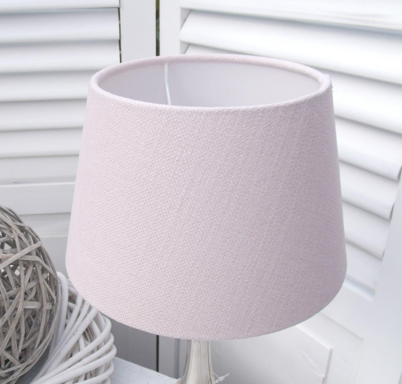 lampenschirm uni rosa 20 15 13 e27 stoff designer. Black Bedroom Furniture Sets. Home Design Ideas