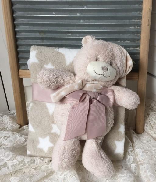 Kuscheldecke Baby Kinder Plaid Kuscheldecke & Teddy Maße (ca.): 75*100/25 cm