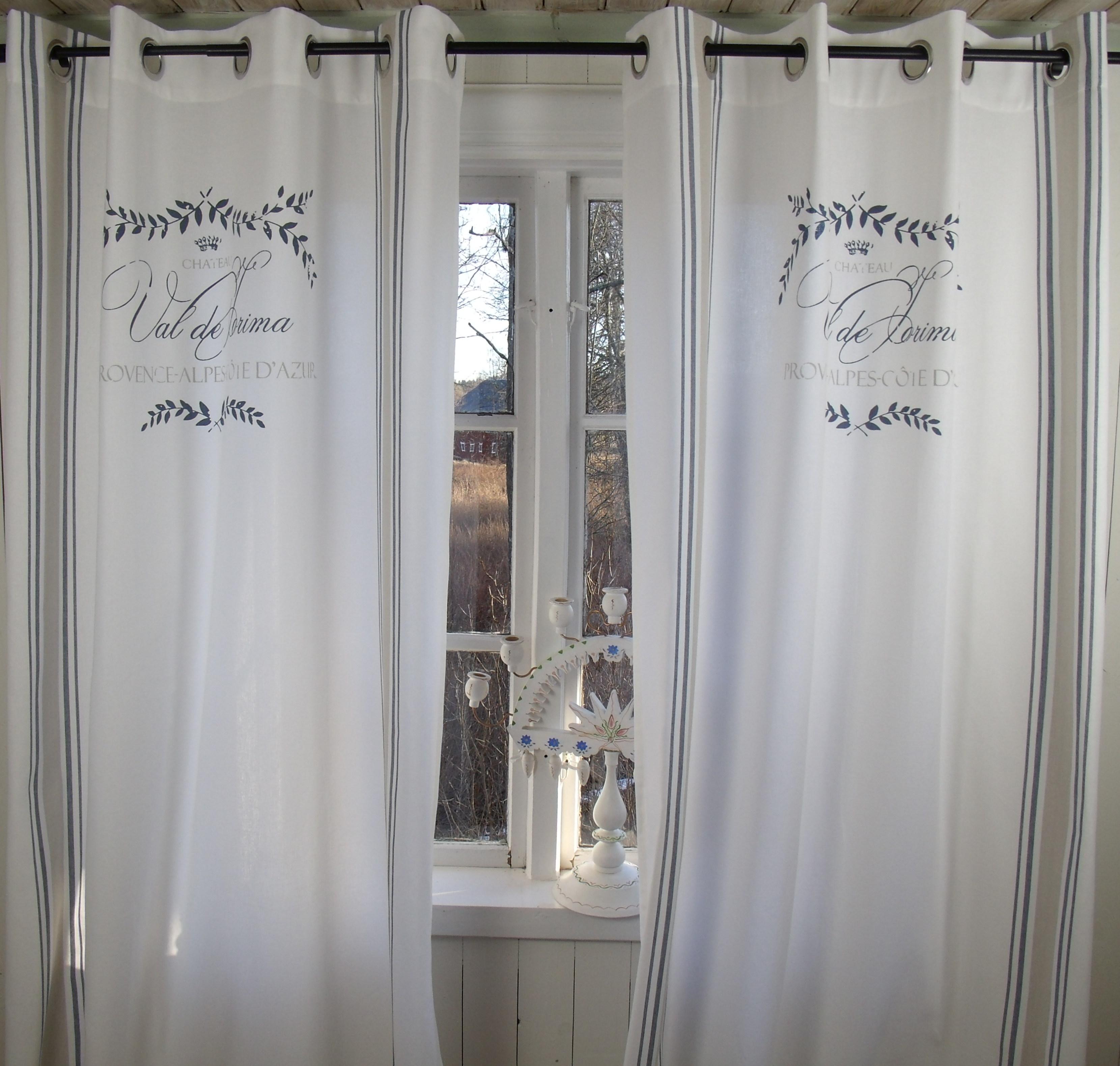 vorhang maje blau gardine 120x240 cm 2 st ck vorh nge spitzen gardinen gardinen. Black Bedroom Furniture Sets. Home Design Ideas