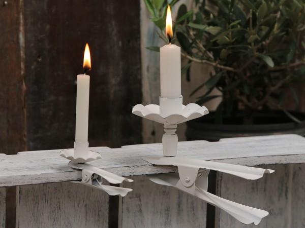Klemmhalter groß für echte Kerzen Clip Weihnachtsbaum Regal Kranz