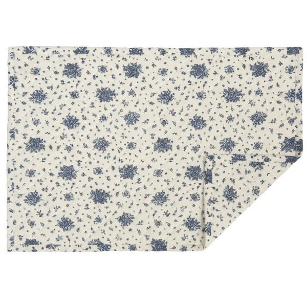 tischset platzset cryss blau 6 st ck 48x33 cm tischsets platzsets k che zauberhafter. Black Bedroom Furniture Sets. Home Design Ideas