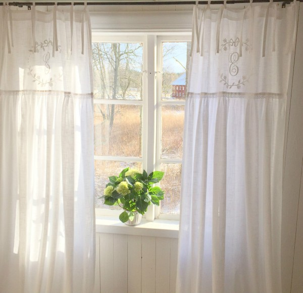 vorhang crystal ny weiss gardinen schals 70x240 cm 2 st ck. Black Bedroom Furniture Sets. Home Design Ideas