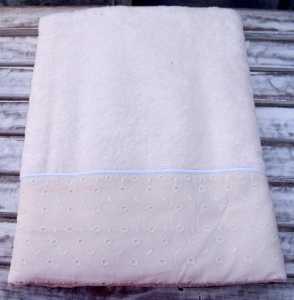 Badehandtuch MARINO CREME 70x140 cm Duschtuch