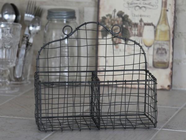 wandregal basket leicht drahtkorb metall aufbewahrung vintage shabby bad k che sonstige. Black Bedroom Furniture Sets. Home Design Ideas