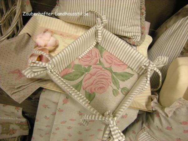 brotkorb br tchenkorb katy stoff rosen beige rosa 35x35 cm brotk rbe aus stoff mehr k che. Black Bedroom Furniture Sets. Home Design Ideas