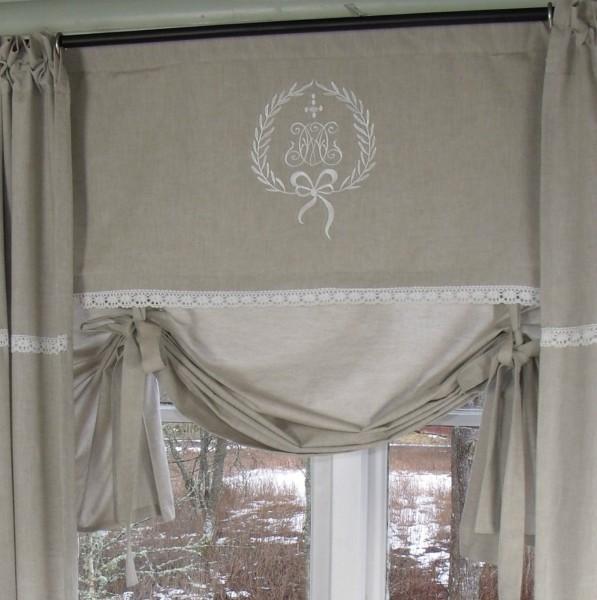 raff gardine amalie sand rollo 140x100 cm raffgardinen rollos gardinen zauberhafter. Black Bedroom Furniture Sets. Home Design Ideas