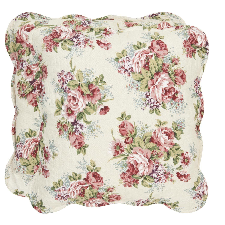 kissenbezug amely 40x40 cm blumen floral kissenbez ge. Black Bedroom Furniture Sets. Home Design Ideas