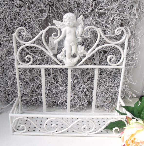 Wandregal ANGEL Creme Bad Küchenregal | Regale U0026 Aufbewahrung | Dekoration  | Zauberhafter Landhausstil