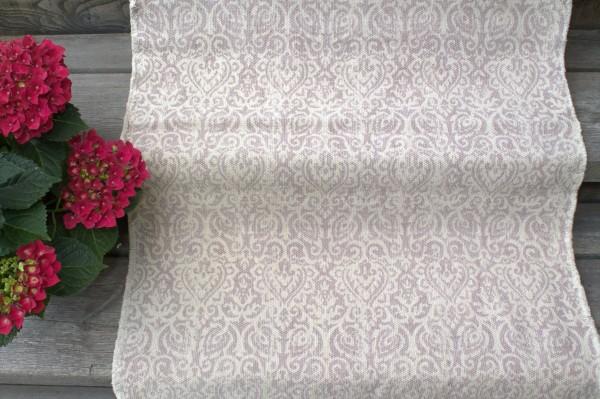 Teppich Läufer AMPHORE Rosa Creme Webteppich in 2 Größen