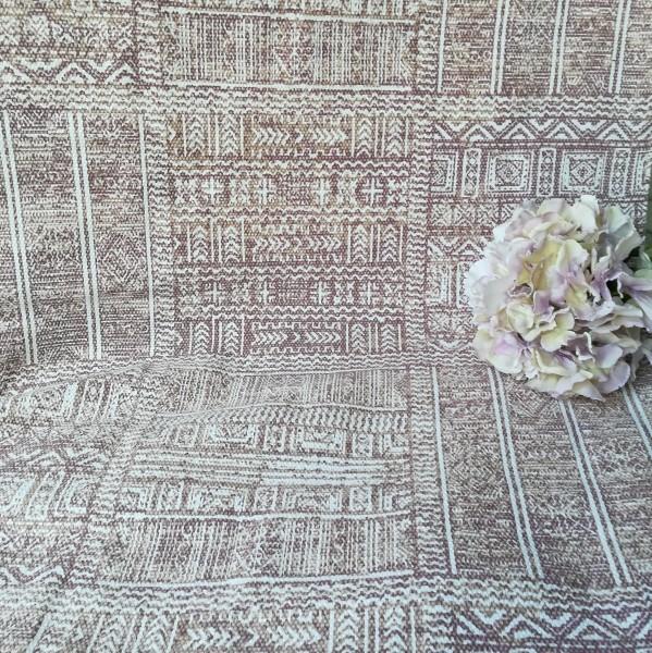 Teppich Läufer ETHNO ROT Braun Webteppich 70x200 cm