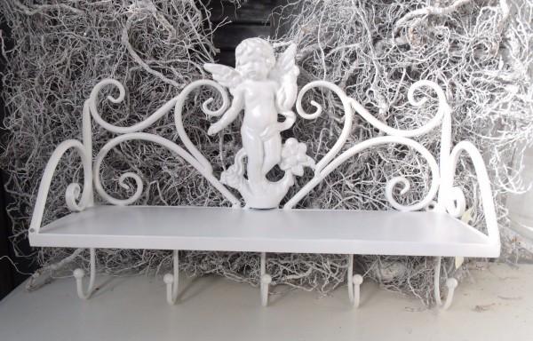 B Ware Handtuchhalter ANGEL Wandregal Küche Bad Creme | Regale U0026  Aufbewahrung | Dekoration | Zauberhafter Landhausstil
