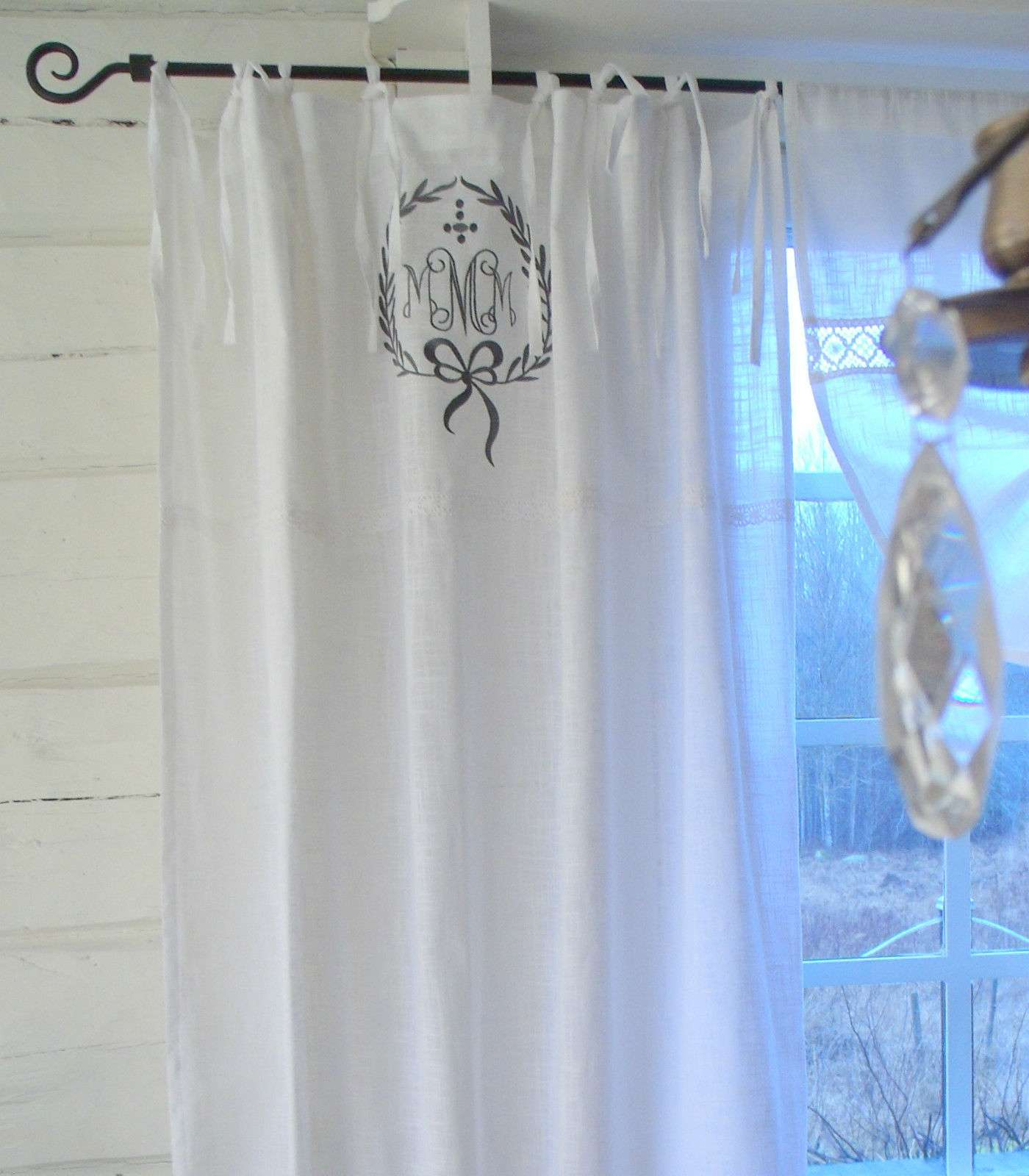 Vorhang JOEL GRAU Gardine 120x240 cm 2 Stück | Vorhänge & Spitzen ...