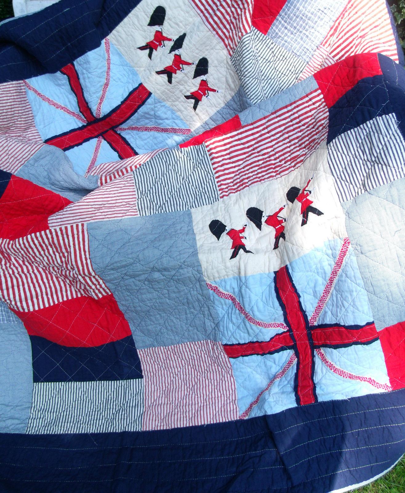 decke england 150x150 tagesdecke krabbeldecke blau wei rot berwurf tagesdecken. Black Bedroom Furniture Sets. Home Design Ideas