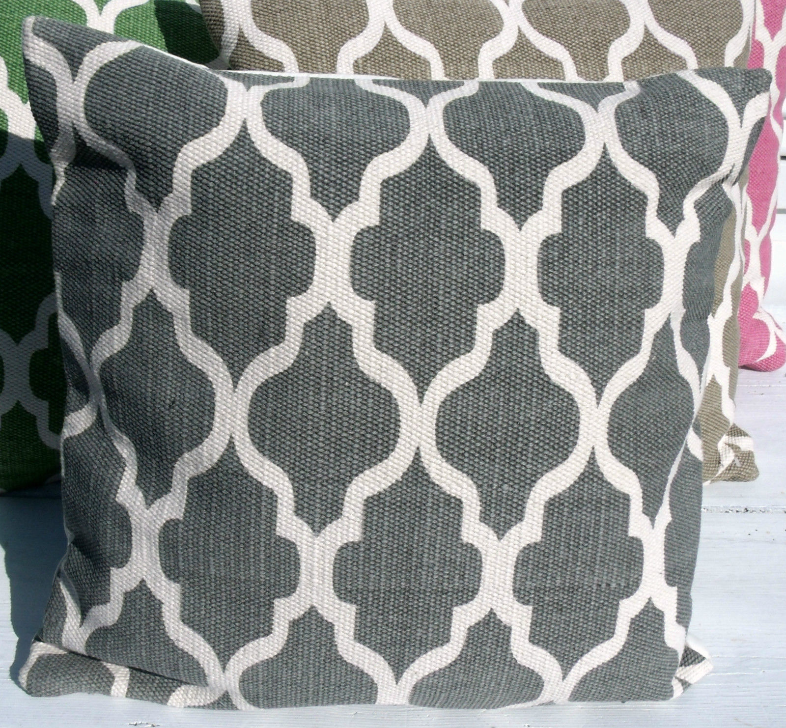 kissenbezug dave grau 45x45 cm used look kissenbez ge. Black Bedroom Furniture Sets. Home Design Ideas