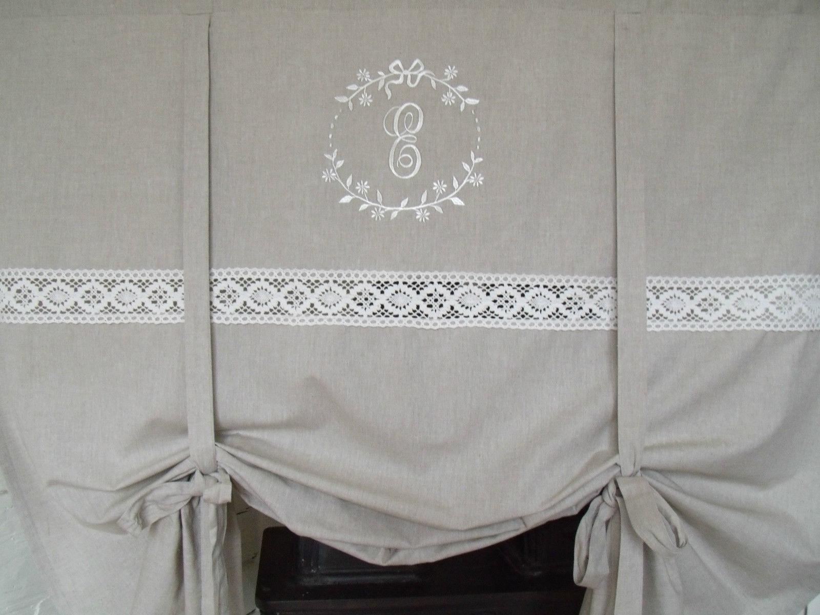 Raff gardine crystal sand 100x120 cm raffgardinen rollos gardinen zauberhafter landhausstil - Raffgardinen landhausstil ...