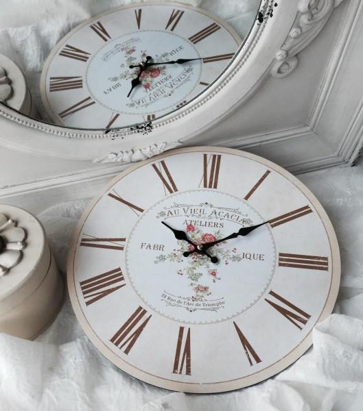 Wanduhr ACACIA Uhr 34 cm Küchenuhr