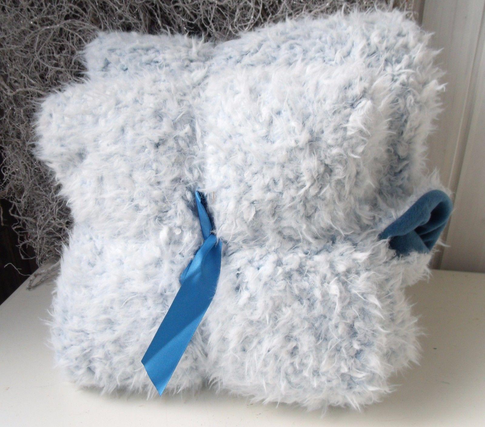 kuscheldecke teddy flausch hellblau 2in1 sofadecke 150x200 cm wohn kuscheldecken decken. Black Bedroom Furniture Sets. Home Design Ideas
