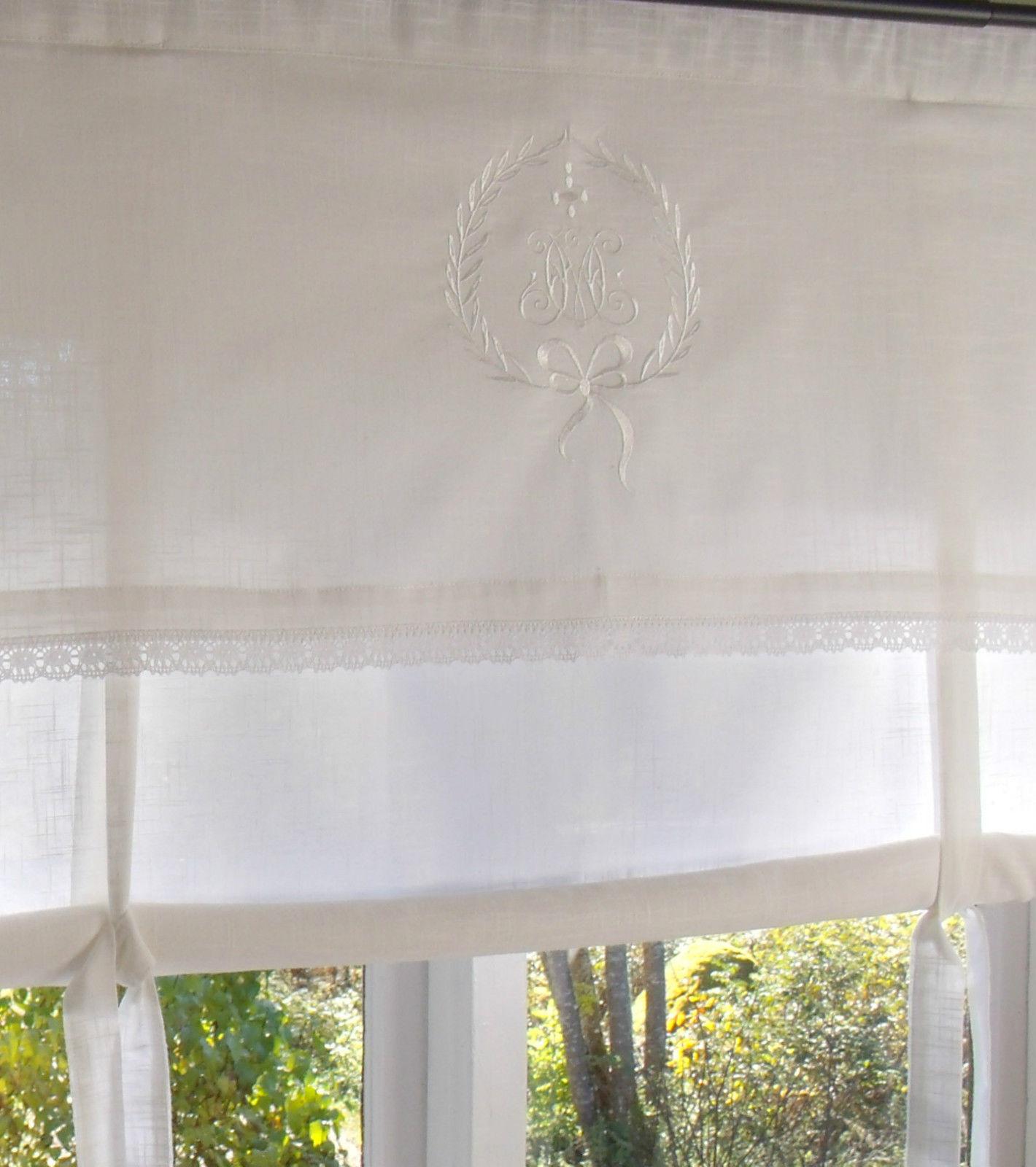 Raff gardine amalie weiss rollo 180x100 cm raffgardinen rollos gardinen zauberhafter - Raffgardinen landhausstil ...